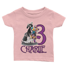 Load image into Gallery viewer, Personalized Nightmare Before Christmas Birthday Shirt
