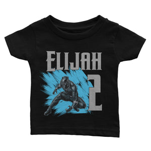 Personalized Black Panther Birthday Shirt