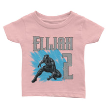 Load image into Gallery viewer, Personalized Black Panther Birthday Shirt