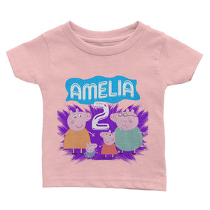 Personalized Peppa Pig Birthday Shirt