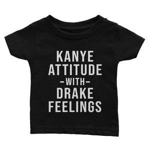 Kanye Attitude Drake Feelings T-Shirt (Youth)