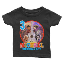 Load image into Gallery viewer, Personalized Disney Coco Birthday Shirt