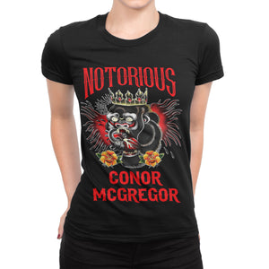 Conor McGregor Tattoo Shirt (Women) - Cuztom Threadz
