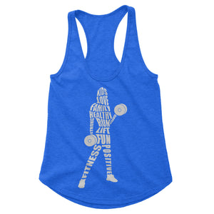 Cross Fit Mom Workout Tank (Woman)