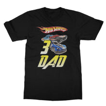 Load image into Gallery viewer, Personalized Hot Wheels Birthday Shirt
