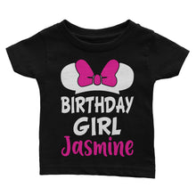 Load image into Gallery viewer, Personalize Mickey Disney Birthday Shirt