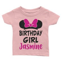 Load Image Into Gallery Viewer Personalize Mickey Disney Birthday Shirt