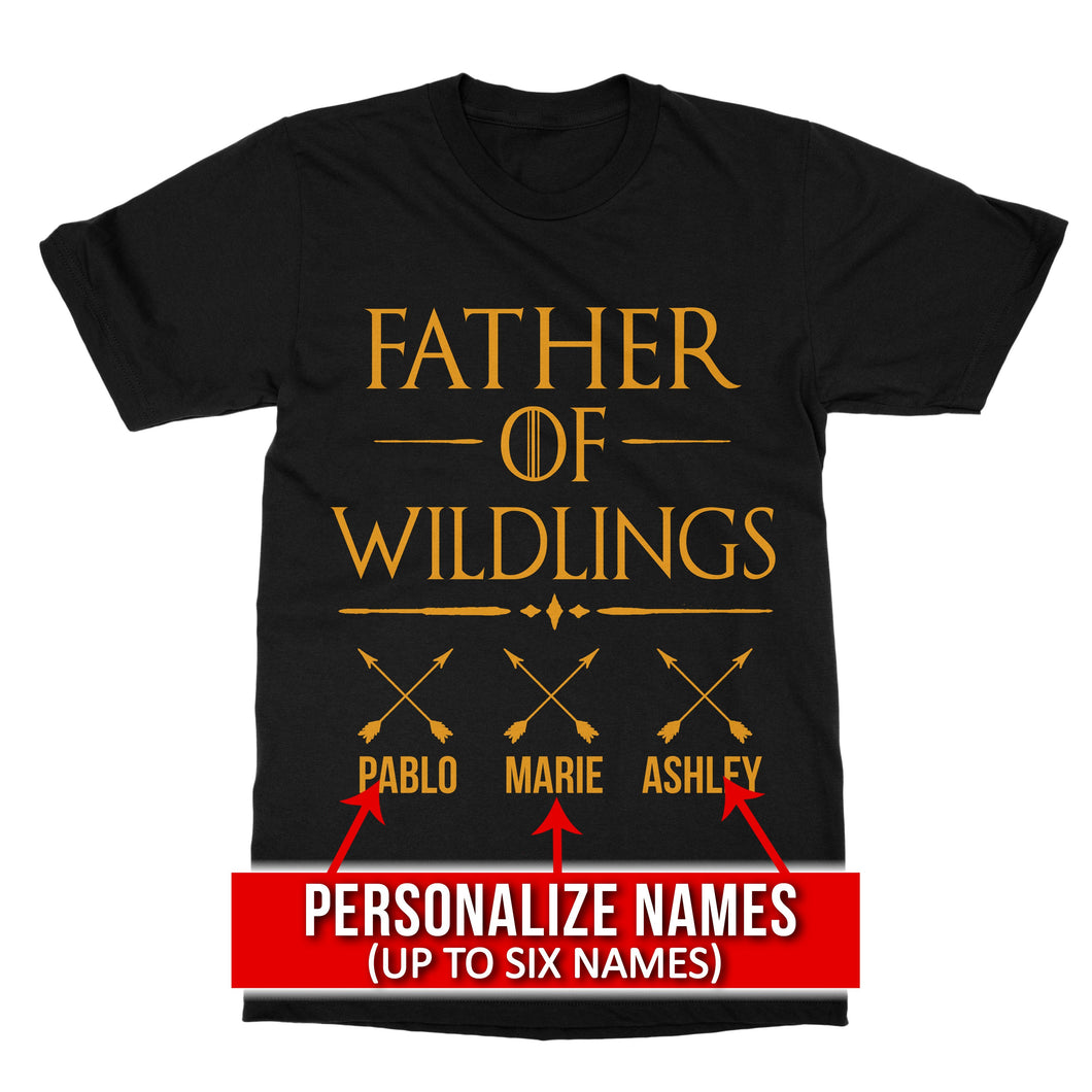 Personalized Father of Wildings Game of Thrones T-Shirt