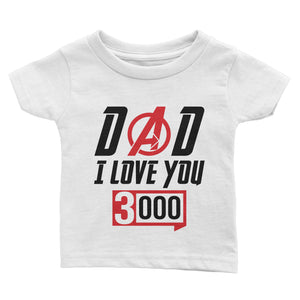 Love You 3000 Father's Day T-Shirt (Youth)