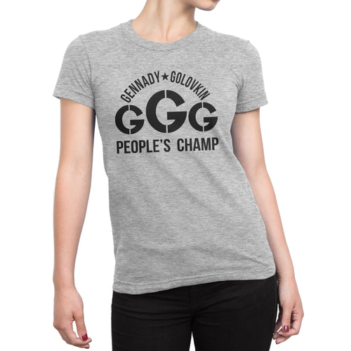 GGG People's Champ Shirt (Women) - Cuztom Threadz