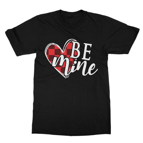 Valentines Buffalo Plaid Heart T-Shirt