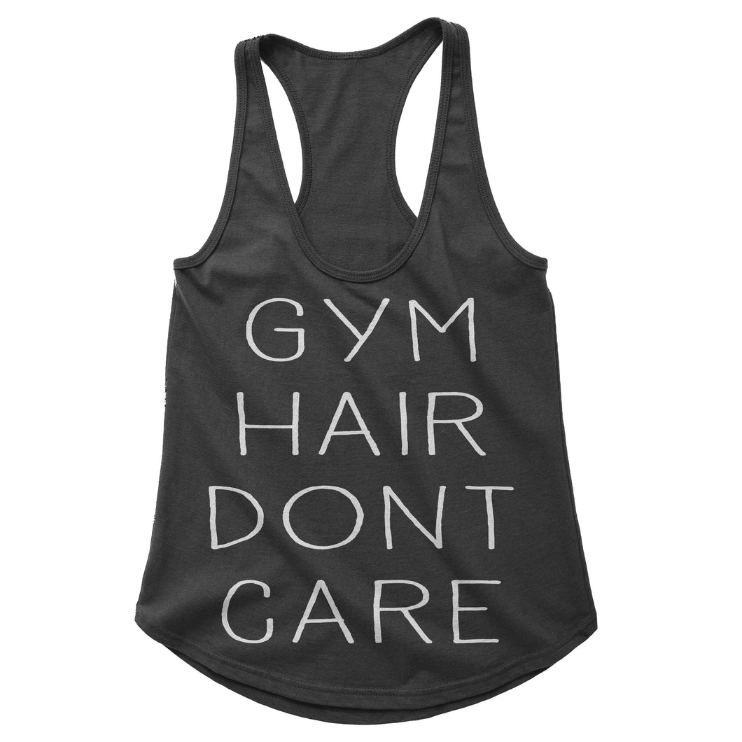 Gym Hair Dont Care Workout Tank (Woman)