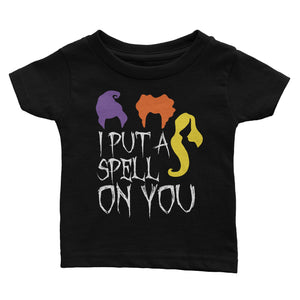 Hocus Pocus I Put A Spell On You Halloween Shirt for Kids