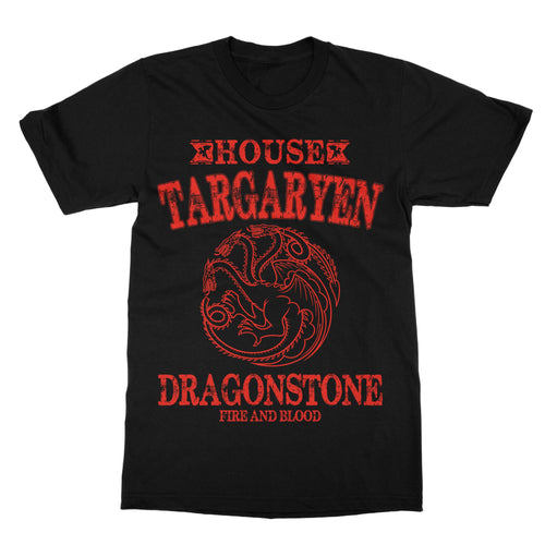 House Targaryen G.O.T. Shirt (Men) - Cuztom Threadz