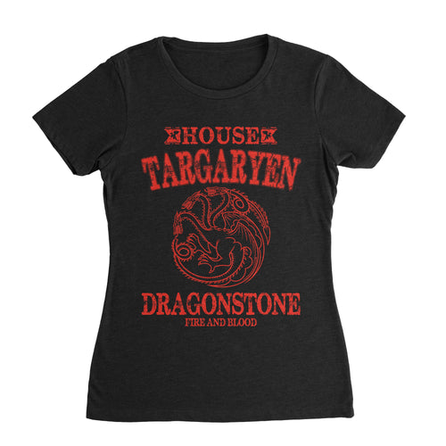 House Targaryen G.O.T Shirt (Women) - Cuztom Threadz