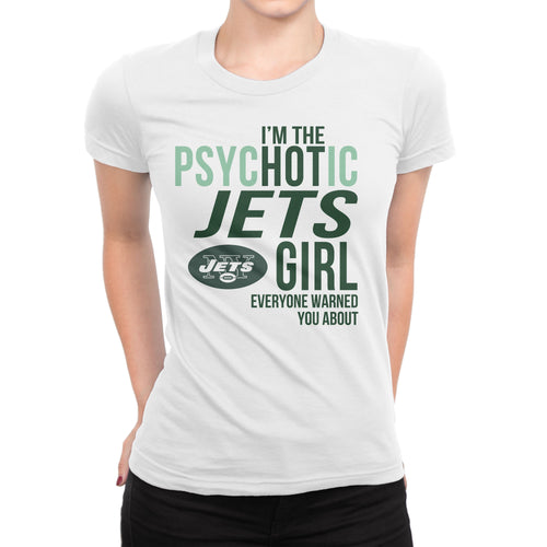 PsycHOTic  New York Jets T-Shirt (Unisex)