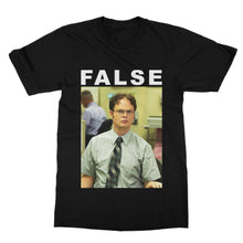 Load image into Gallery viewer, False Dwight Schrute The Office T-Shirt (Men)