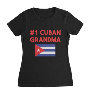 Best Cuban Grandma T-Shirt (Woman)