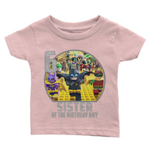 Load image into Gallery viewer, Personalize Lego Batman Birthday Shirt