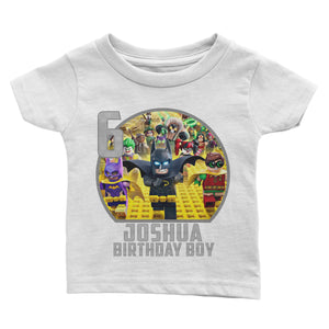 Personalize Lego Batman Birthday Shirt