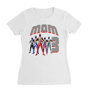 Personalized Power Rangers Birthday Shirt