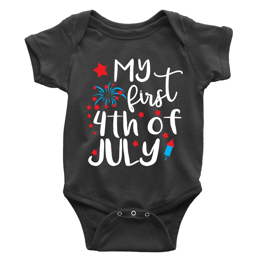 My First 4th Of July Onesie (Infant)