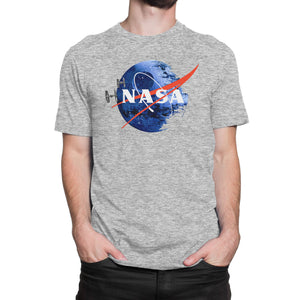 NASA Death Star Shirt (Men) - Cuztom Threadz