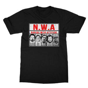 N.W.A Narcos With Attitude Shirt (Men) - Cuztom Threadz