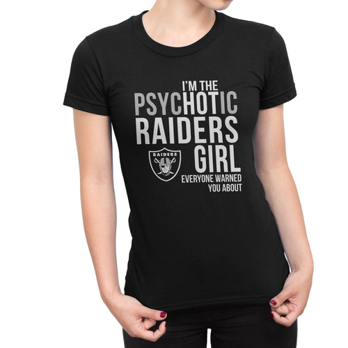 PsycHOTic  Las Vegas Raiders T-Shirt