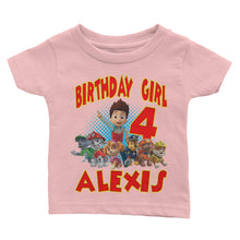 Load image into Gallery viewer, Personalize Paw Patrol Birthday Shirt