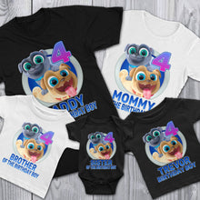 Load image into Gallery viewer, Personalize Puppy Dog Pals Birthday Shirt