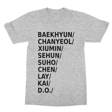 Load image into Gallery viewer, K-Pop EXO T-Shirt (Men)