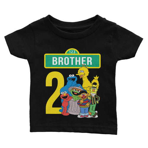 Personalize Sesame Street Birthday Shirt