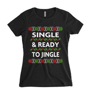 Single Ready To Jingle Christmas Shirt