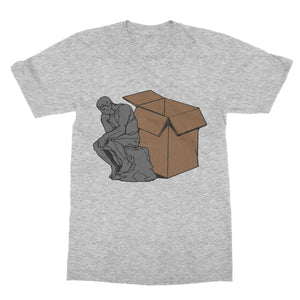 Think Outside The Box Funny Shirt (Men)