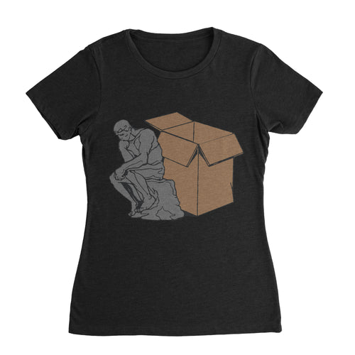 Think Outside The Box Funny Shirt