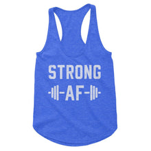 Load image into Gallery viewer, Strong AF Workout Tank (Woman)