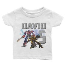 Load image into Gallery viewer, Personalize Transformers Birthday Shirt
