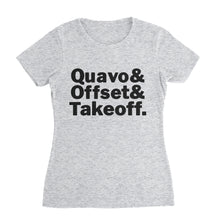 Load image into Gallery viewer, Quevo Offset Takeoff Migos T-Shirt (Unisex)