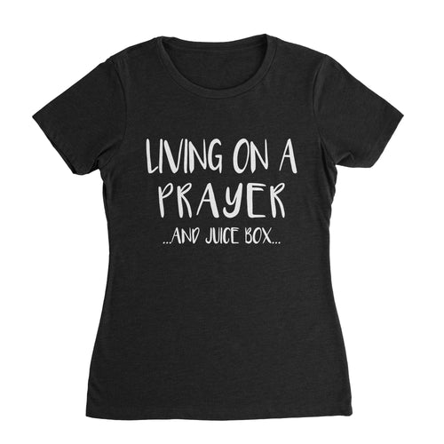 Prayer and Juice Box Mom T-Shirt
