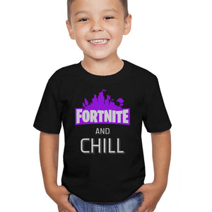 Fortnite and Chill T-Shirt (Youth)