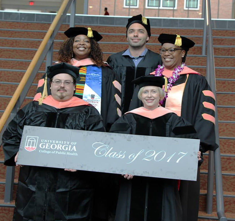 Doctoral Gown & Faculty