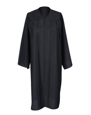 Unisex Adult Black Matte Graduation Gown Only Choir Robes,12 Colors Option