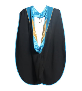 MyGradDay Deluxe Unisex Graduation Doctoral Hood with Gold Piping
