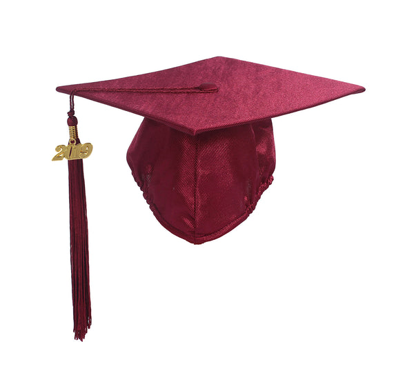 Graduation Shiny Cap With Tassel Year Charm 2019 for Children