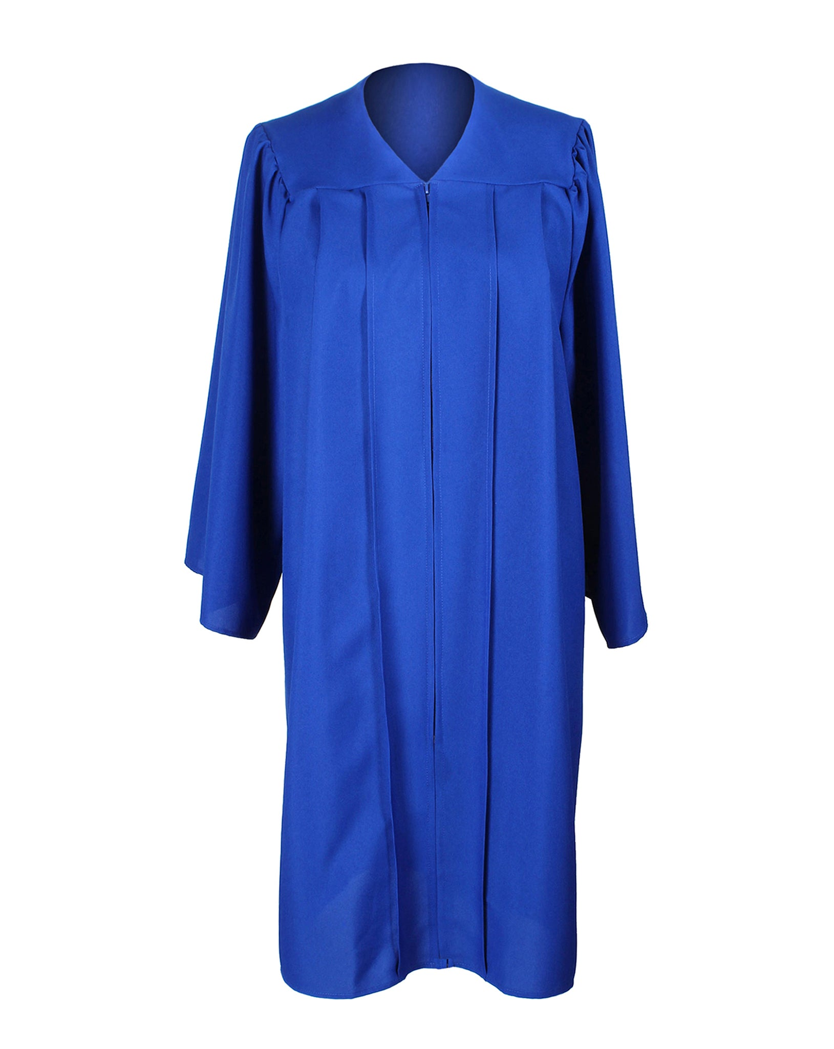 Unisex Adult Royal Blue Matte Graduation Gown Only Choir Robes,12 Colors Option