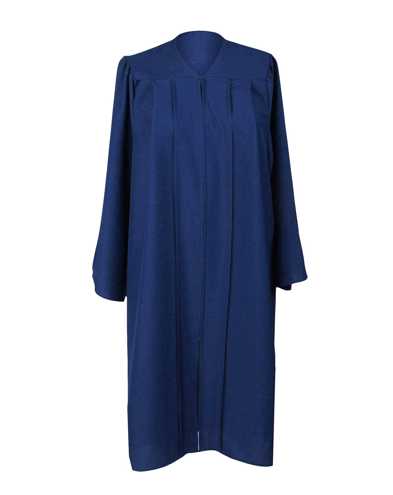 Unisex Adult Navy Blue Matte Graduation Gown Only Choir Robes,12 Colors Option