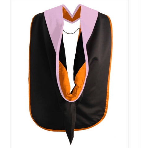 Doctoral Hood Customization without Gold Piping