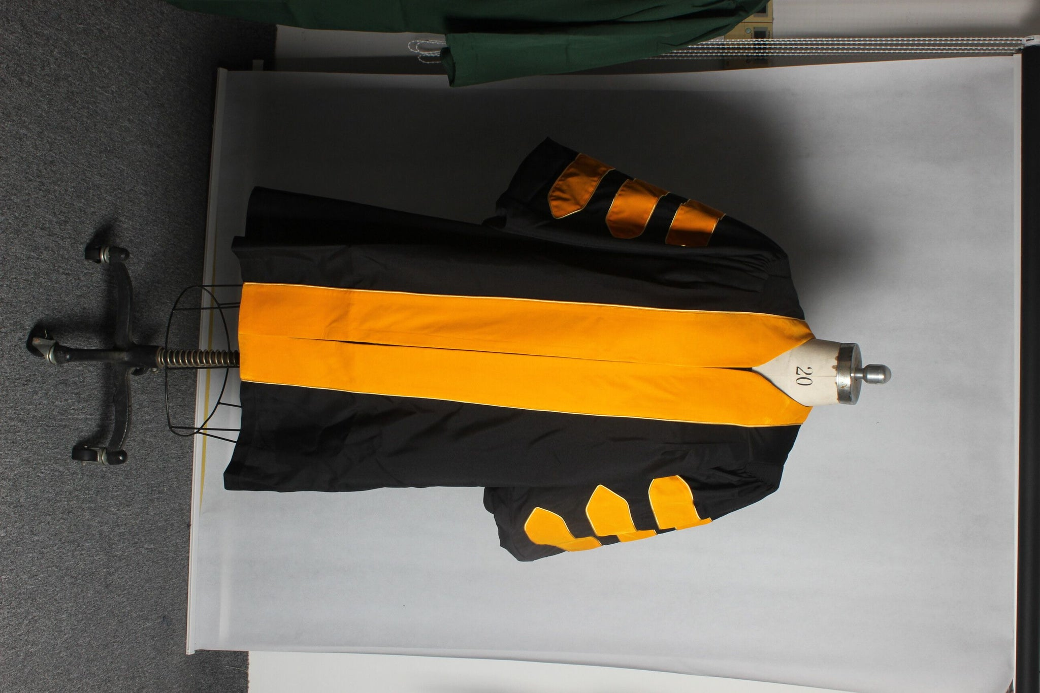 Graduation Doctoral Gown and 8 side Tam Package Customization.