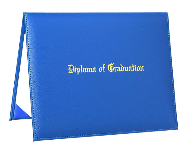"PU Graduation Diploma Cover Imprinted""Diploma of Graduation"" Certificate Cover,8 1/2"" x 11"""